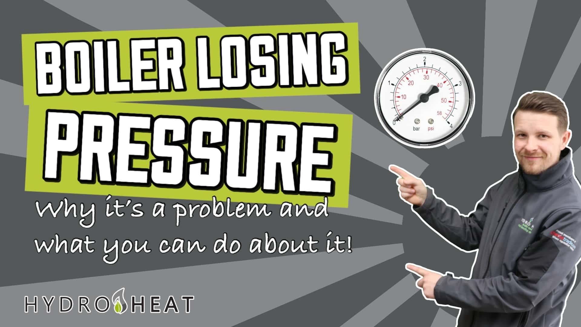 boiler losing pressure1